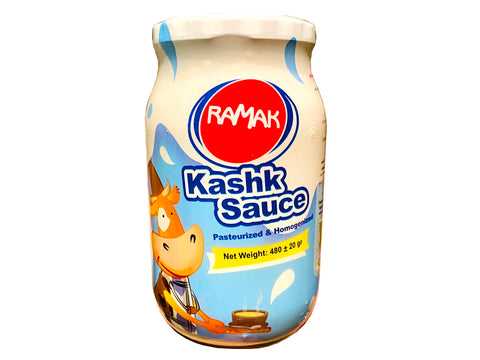 Pasteurized and Homogenized Whey Ramak (Kashk)