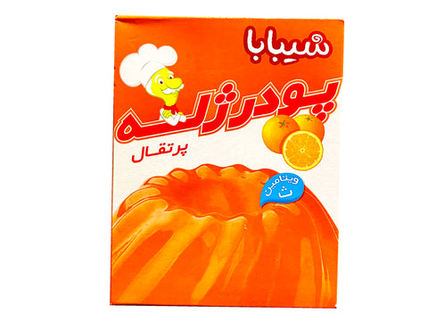 Jelly Dessert Orange Powder Shibaba(Poodre Gele Porteghal)
