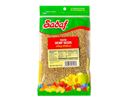 Hemp Seeds Toasted Sadaf (Shahdaneh)