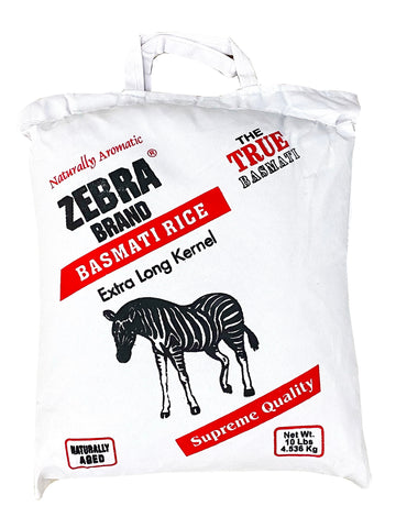 Extra Long Basmati Rice Zebra