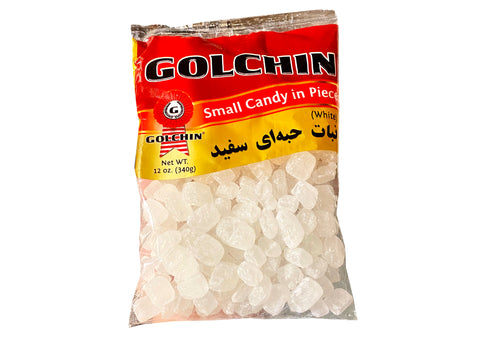 Small Candy in Pieces Golchin White (Nabaat)(Nabat)