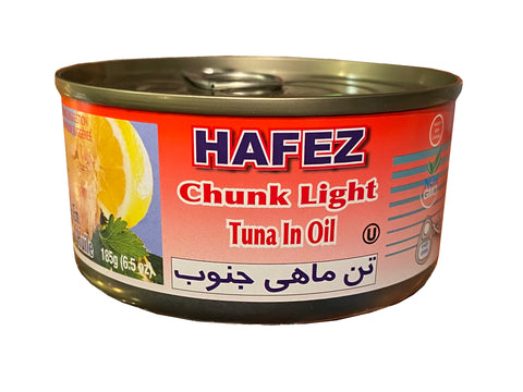 Tuna Fish In Oil Hafez (Ton e Mahi)(Easy Open)