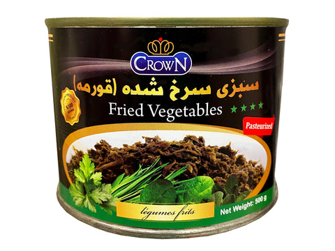 Fried Ghormeh Sabzi Herbs Crown in Can(Sabzy)