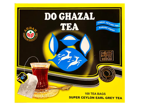 Ceylon Earl Grey 100 Tea bags Do Ghazal (Chai)