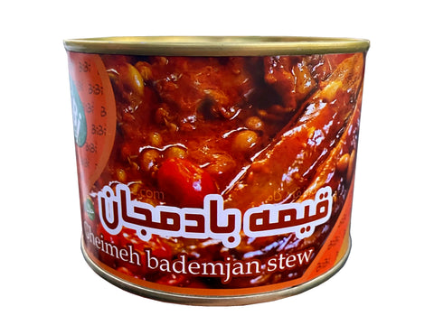 Gheimeh With Eggplant Stew BiBi in Can (No Meat)(Khoresh)(Gheymeh Bademjan)