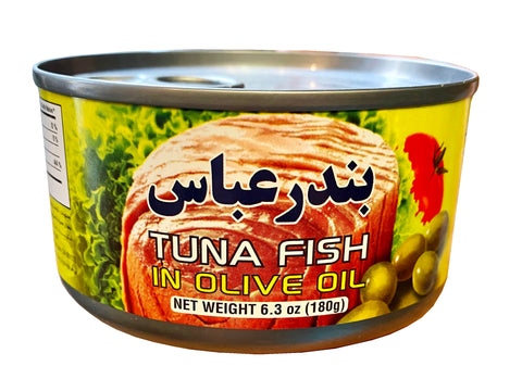 Tuna Fish In Olive Oil Bandar Abbas (Ton e Mahi)(Easy Open)