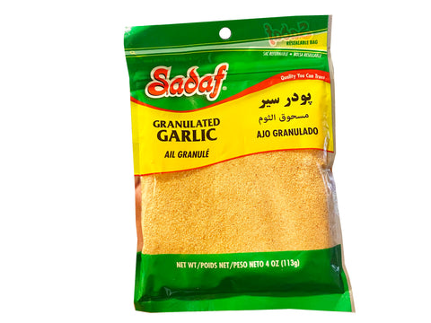Granulated Garlic Sadaf (Garlic Powder) (Poodr e Sir)