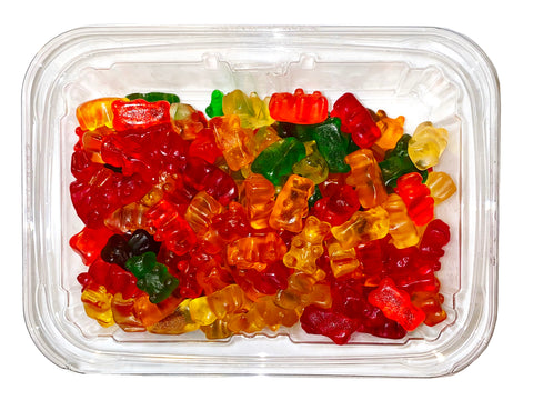 Gummy Bears Chewy Candy (1 Lb)(Pastil Khersi)