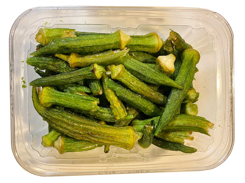 The Best Quality Okra Chips (Bamieh)(Bamiyeh)