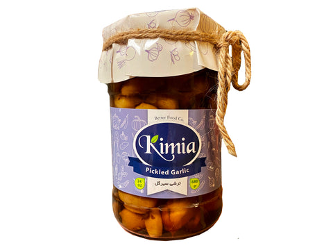Pickled Garlic Kimia (Sir Torshi-Turshi)