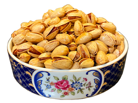 Best Quality Fresh Akbari Pistachio Lemon Roasted/Lightly Salted (Pesteh Akbari)