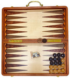 "Fancy Wooden (19"" * 20"") Eye-Catching Backgammon & Chess Set (Takhteh Nard-Shatranj)"