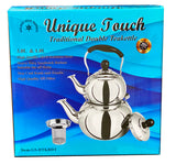 Traditional Double Kettle Stainless Steel Unique Touch (Ketri)