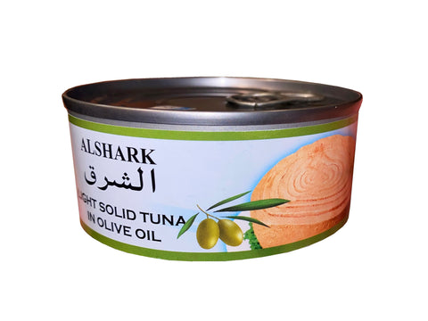 Light Solid Tuna In Olive Oil Alshark (Ton e Mahi)(Easy Open)