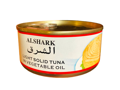 Light Solid Tuna In Vegetable Oil With Chili Alshark (Ton e Mahi)(Easy Open)