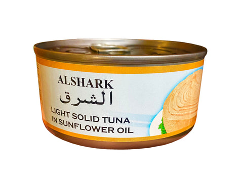 Light Solid Tuna In Sunflower Oil Alshark (Ton e Mahi)(Easy Open)