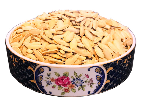 Imported Salted Double Roasted Pumpkin Seeds (Tokhmeh Kadoo 2Atisheh)