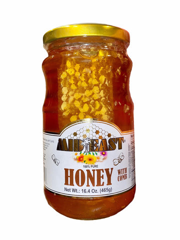Honey With Comb Mid-East (Asal Ba Moom)