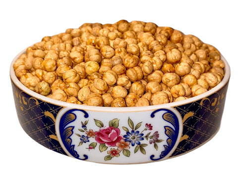 Grade A+ Imported Double Roasted/Lightly Salted Chickpeas (1 Pound) (Nokhodchi 2 Atisheh)