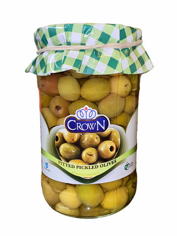 Pitted Pickled Olives Crown (Zeytoon bi Hasteh)
