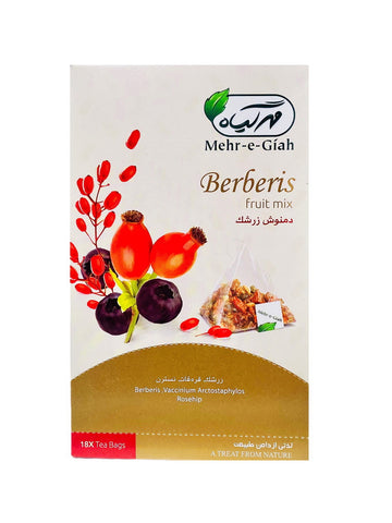 Barberries Fruit Mix Mehr-e-Giah (Mixed Herbal Tea) (Damnoosh e Zereshk)
