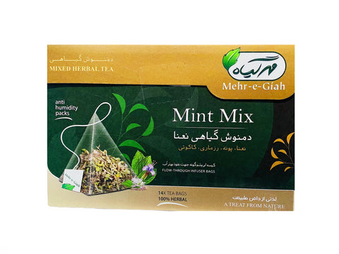 Mint Mix Mehr-e-Giah (Mixed Herbal Tea) (Damnoosh e Nanaa)