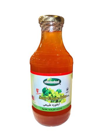 Sour Grape Juice Shemshad (Ab Ghoureh)(Ghooreh)