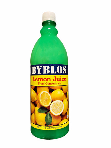 Lemon Juice from Concentrate Byblos (Ab Limoo)(Aab Limu)