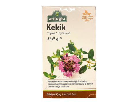 Arifoglu Thyme Herbal Tea (Kekik Cay)(Chai Avishan) 20 Tea Bags