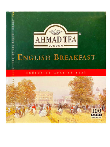Ahmad English Breakfast Tea (100 Tea Bags)(Chai)