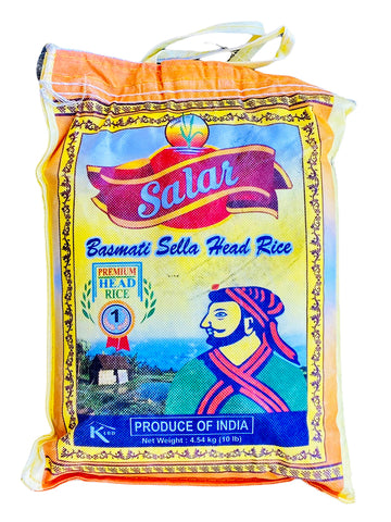 Basmati Sella Head Rice Salar (Berenj)