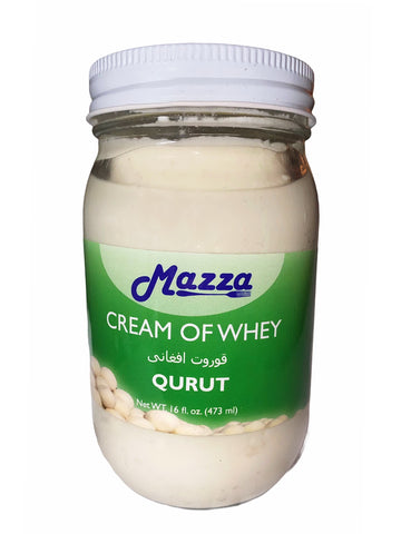 Afghan Style Cream Of Whey Mazza (Qurut)(Kashk)