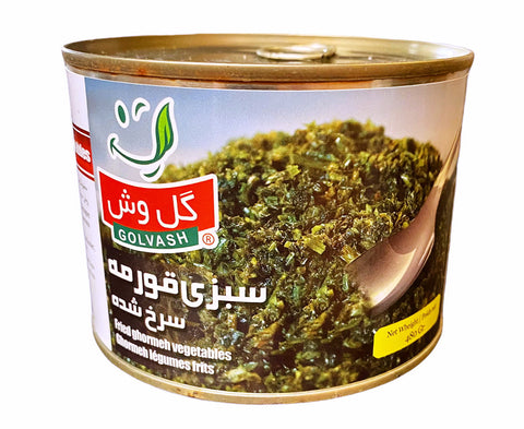 Fried Ghormeh Sabzi Herbs Golvash in Can(Sabzy)