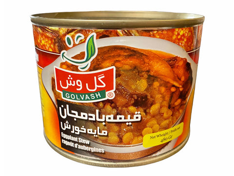Gheimeh Stew With Eggplant Golvash In Can (No Meat)(Khoresh)(Gheymeh)