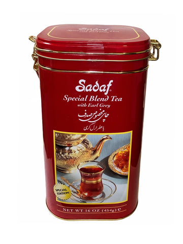 Special Blend Tea with Earl Grey Tin Sadaf (Chai)