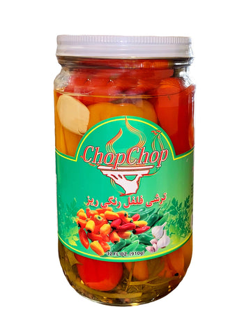 Mini Sweet Pepper Pickle ChopChop (32 Oz) (Torshi-Turshi)
