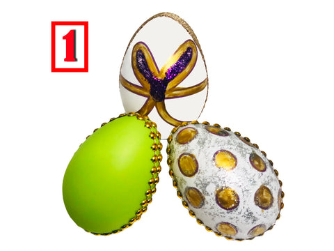 Haft-Seen Colored Plastic Egg Sets (Please click on The Set number to see each set) (7 Sin)