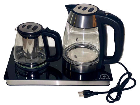 Unique Touch Cordless Tea Maker (3 Pcs) (Chai Saz)