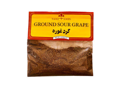 Ground Sour Grape Nader (Gard e Ghooreh)