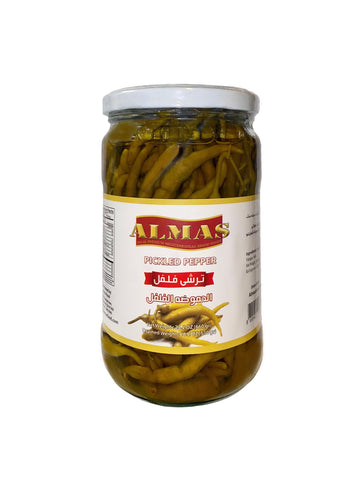 Pickled Pepper Almas ( Turshi Felfel- Torshi )