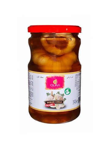 Pickled Garlic Olka (Sir Torshi-Turshi)