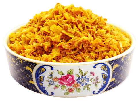 Crispy Golden Fried Onions (Piaz Dagh)