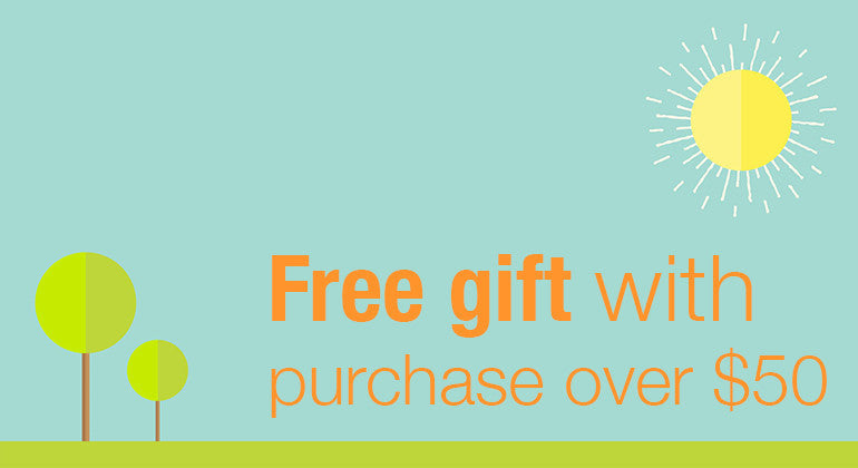 Free Gift with orders over $50