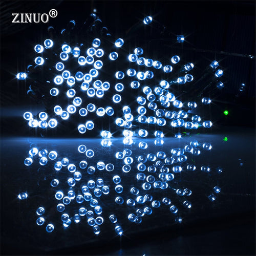100 LEDs Solar Light 2 Modes Led String Light Christmas Decoration