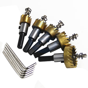 Titanium Twist Drill Bit Set