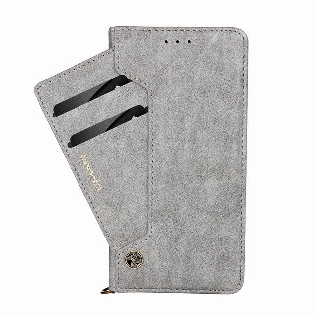 For iPhone X Case Good Quality Leather & Wallet