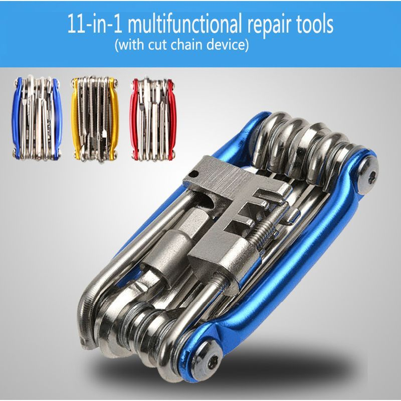 11 in 1 Bicycle Mountain Road Bike Tool