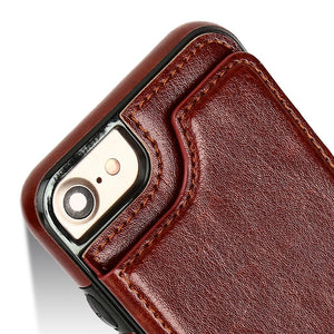 HAISSKY Luxury Wallet Case For iPhone 6 6s Plus 7 8 Plus