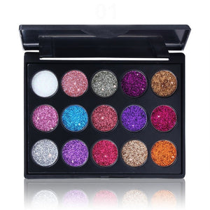 15 COLOR MASONRY EYE SHADOW PALETTE MAKEUP