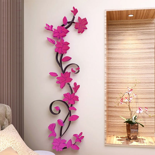 3D Crystal Stereo Wall Stickers